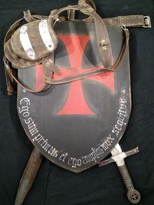 Templar Post-apocalyptic Shield - Gadthebrand