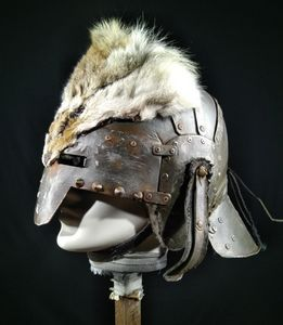 The Connetable War helmet