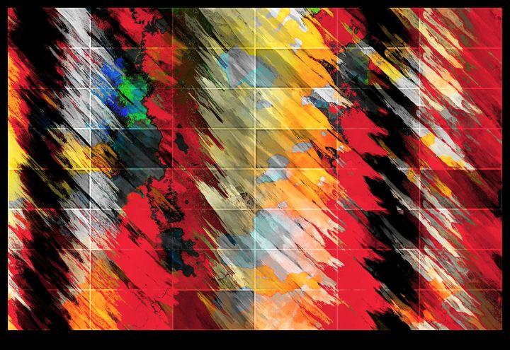 Pinky squares - Corinne's Prints n things