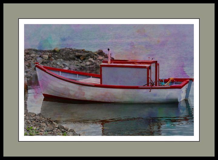 Old Put Put Boat - Corinne's Prints n things