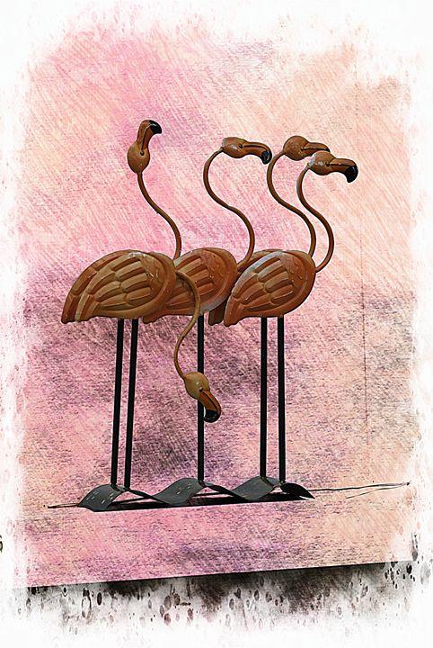 Pink Flamingo - Corinne's Prints n things