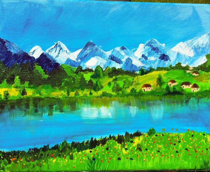 blue mountain - Priya
