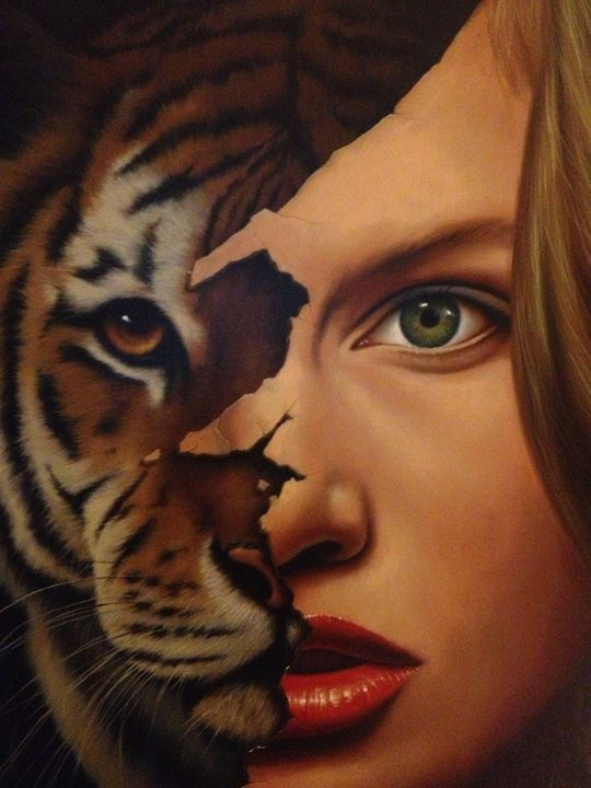 Tiger Within by Jim Warren - Sunday on The Square