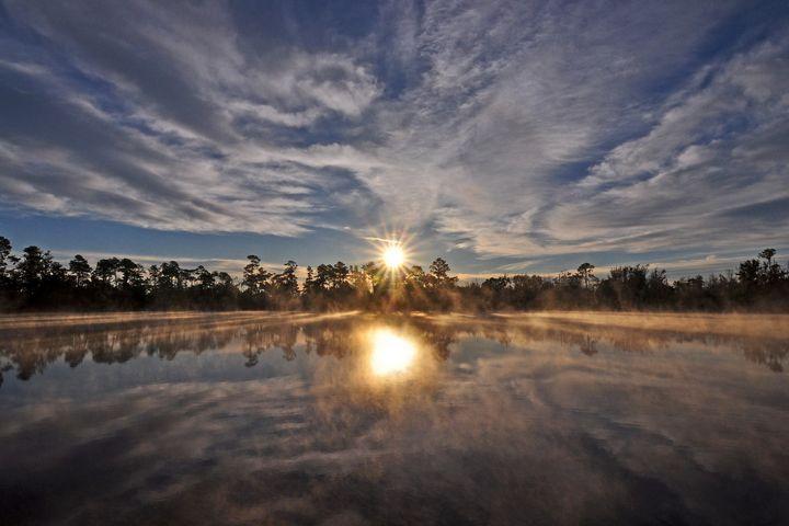 Enchanting sunrise - Moon-Glade