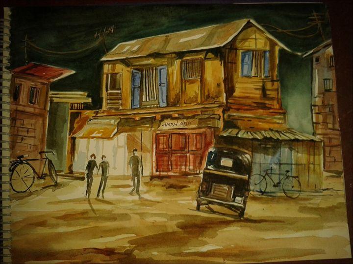night scene -  Avirupduttaroy
