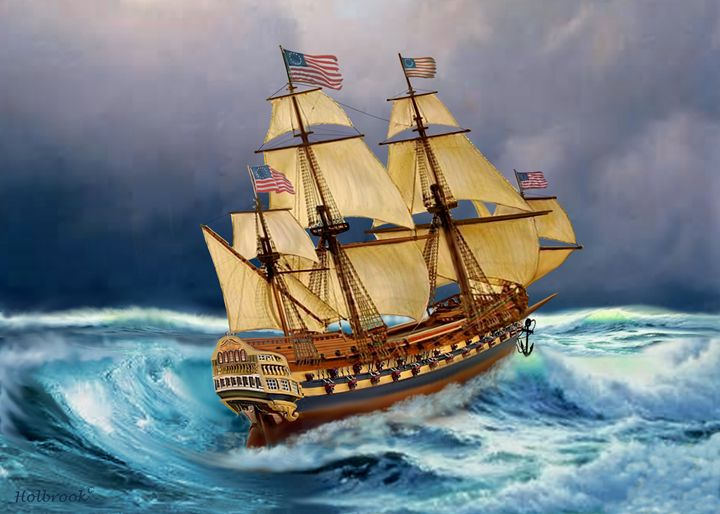 AMERICA SURVIVING THE STORMS - HOLBROOK ART PRODUCTIONS