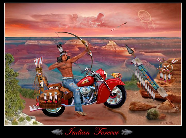 INDIAN FOREVER - HOLBROOK ART PRODUCTIONS