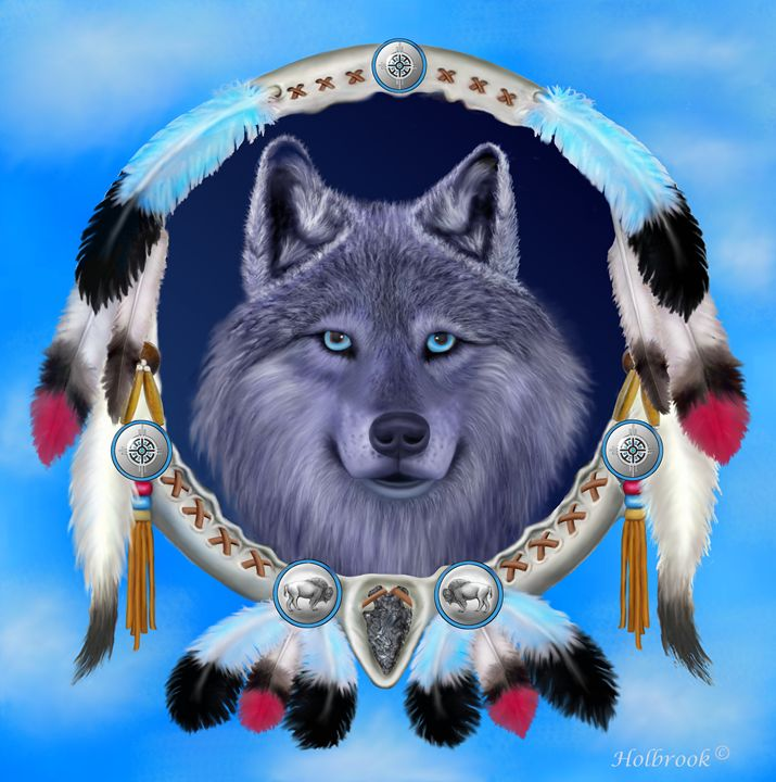 DREAM WOLF - HOLBROOK ART PRODUCTIONS