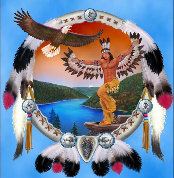 EAGLE DANCER - HOLBROOK ART PRODUCTIONS