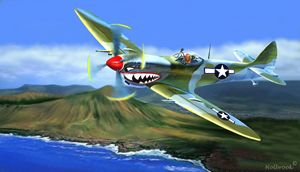 SPITFIRE OVER HAWAII