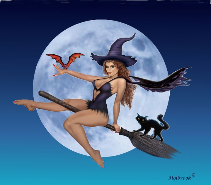 SIMPLY BEWITCHING - HOLBROOK ART PRODUCTIONS