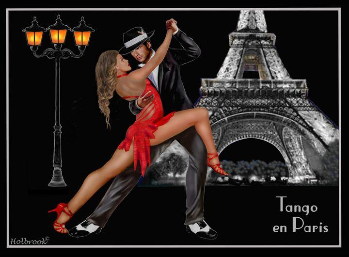 Tango en Paris - HOLBROOK ART PRODUCTIONS