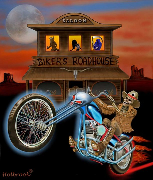 GRAVE RIDER - HOLBROOK ART PRODUCTIONS