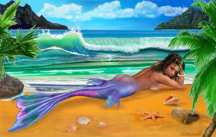 ENCHANTED MERMAID - HOLBROOK ART PRODUCTIONS