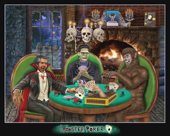 MONSTER POKER - HOLBROOK ART PRODUCTIONS