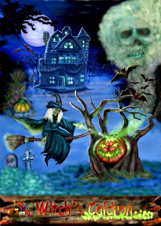 WITCH'S CALDRON - HOLBROOK ART PRODUCTIONS