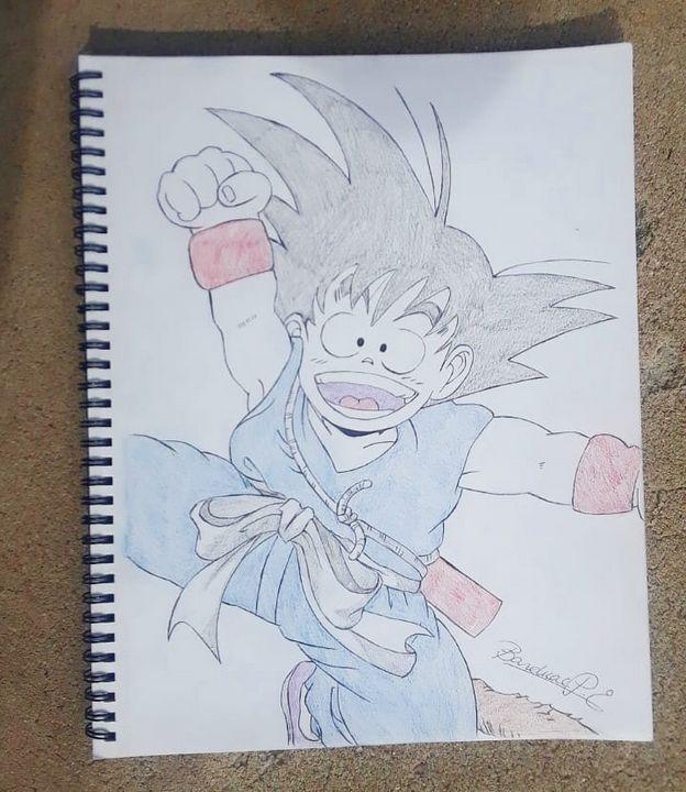 Happy Goku! - AClass Art 😁