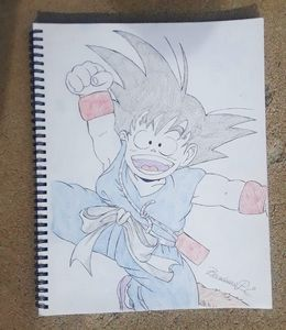 Happy Goku!