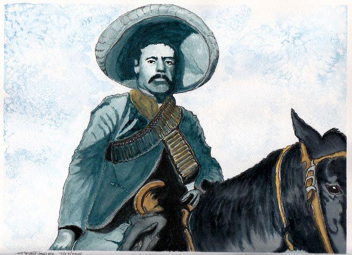 Pancho Villa - RedDragon Watercolors