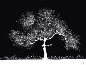 Arbre blanc,   White tree