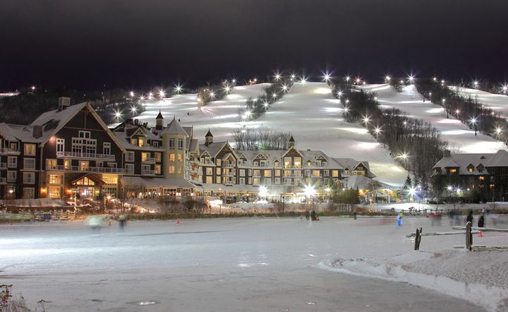 Collingwood Hotel, Slopes and Lights - Donny R. Coutu