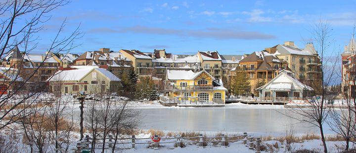 Ski Chalet Village Style Resort Land - Donny R. Coutu