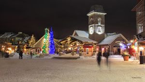 Skiing Resort & Village Shops