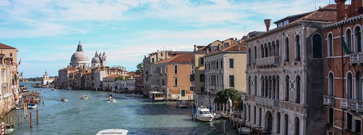 Venice Grand Canal Panorama - Donny R. Coutu