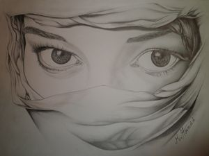 the most beautiful Arab eye