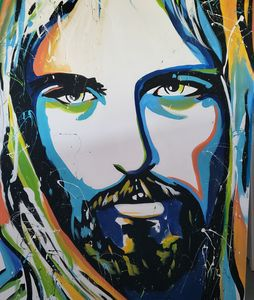 Colorful Christ