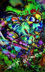 Alien Awarenress Futuristic Colors