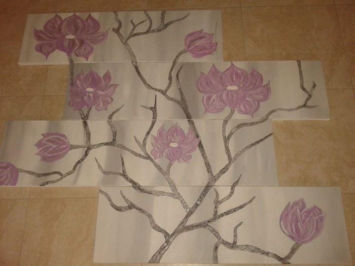 Blossom - Arty Hands by Kyriaki