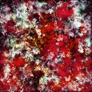 The red crying rocky surface