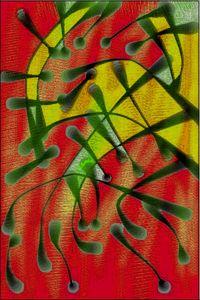 Dark lights in a colorful life II - zt art