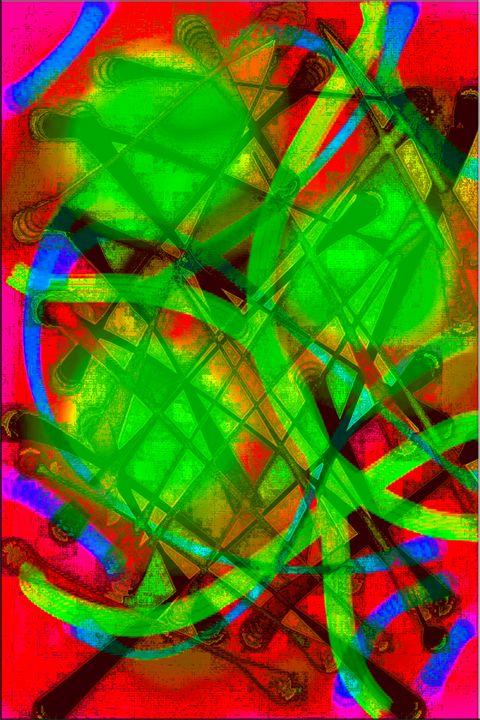 Spatiotemporal voyage II - zt art