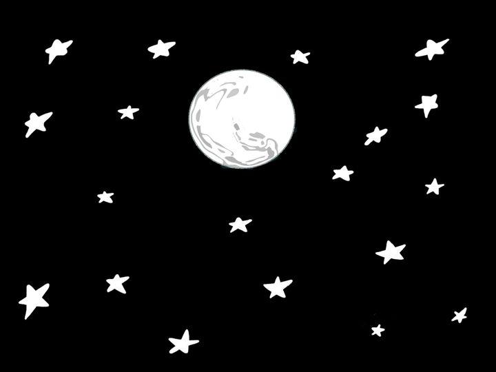 Moon and Stars - Sreelatha Nandigiri