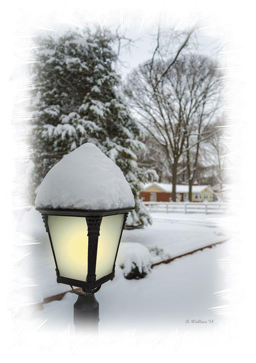 Snowy Lamplight - Brian Wallace