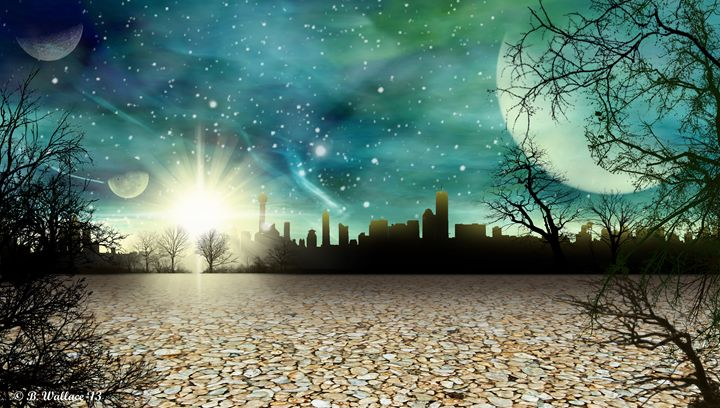 Alien World City - Brian Wallace