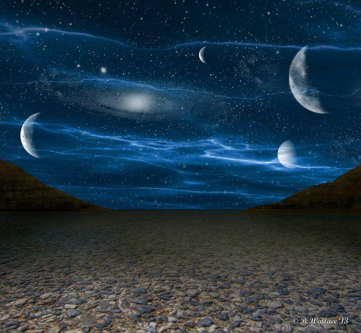 Alien Landscape - Brian Wallace