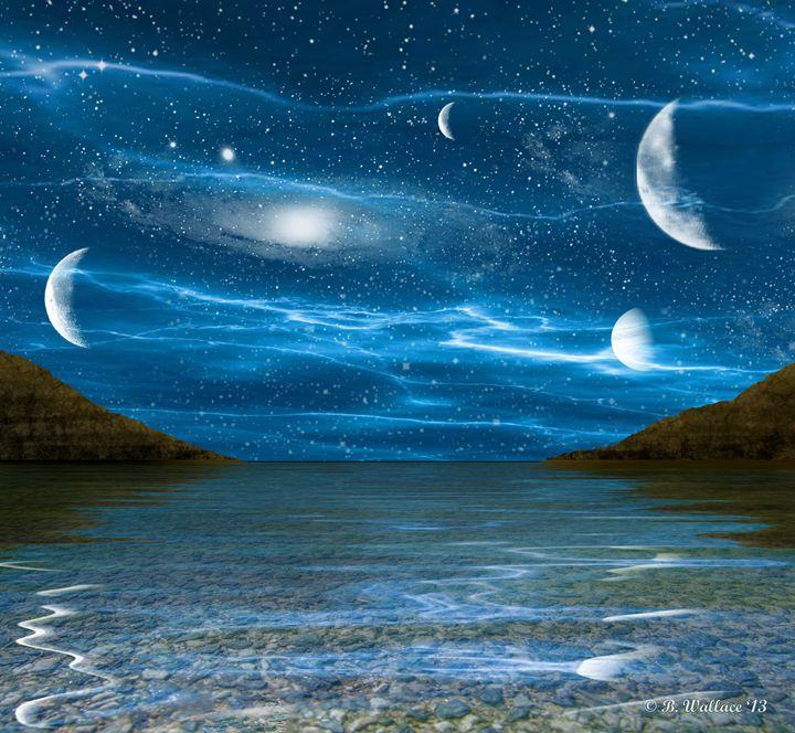 Alien Waterscape - Brian Wallace