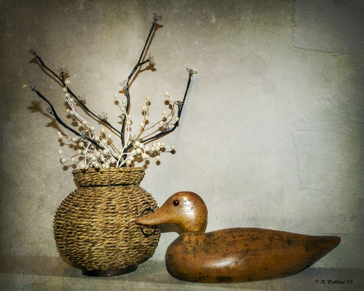 Wooden Decoy - Brian Wallace