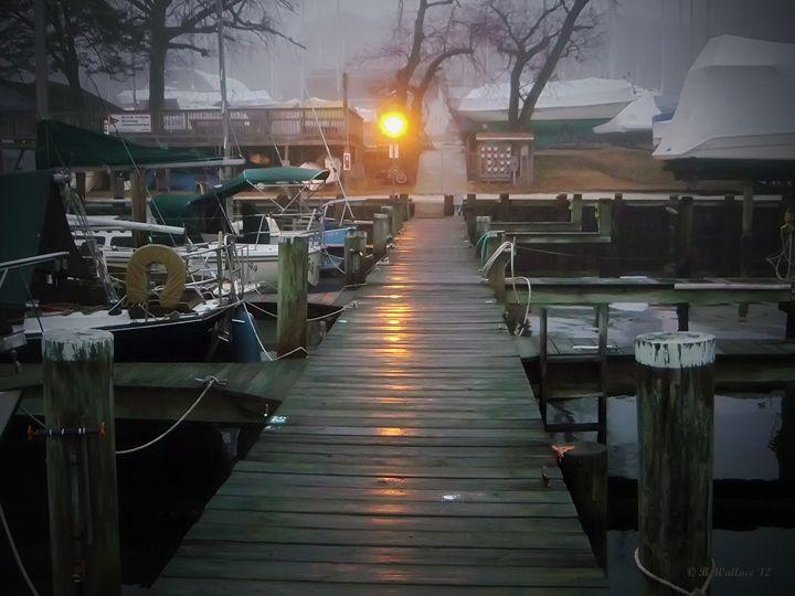Pier Light - Brian Wallace