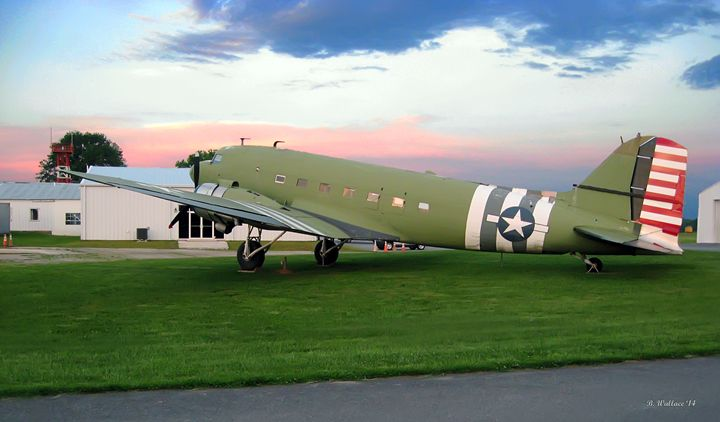 WWII DC-3 Restoration - Brian Wallace