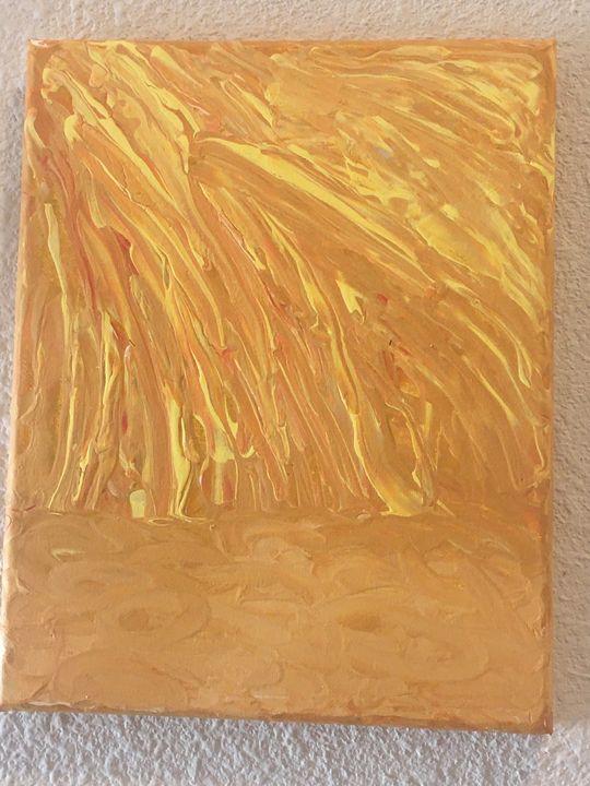 Sun Drenched Desert - Terri's Fun Art and Home Decor