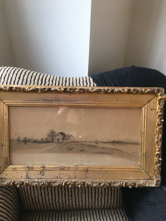 1850's pencil on paper - Passed On Collectibles