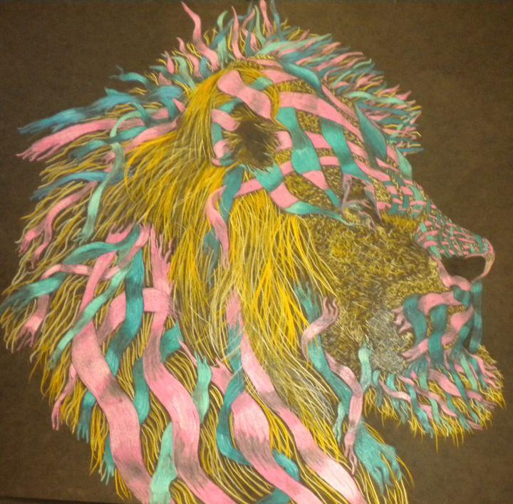 The heart of the lion - Fields-Fine art