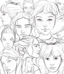 Faces - Art.kuzeneva