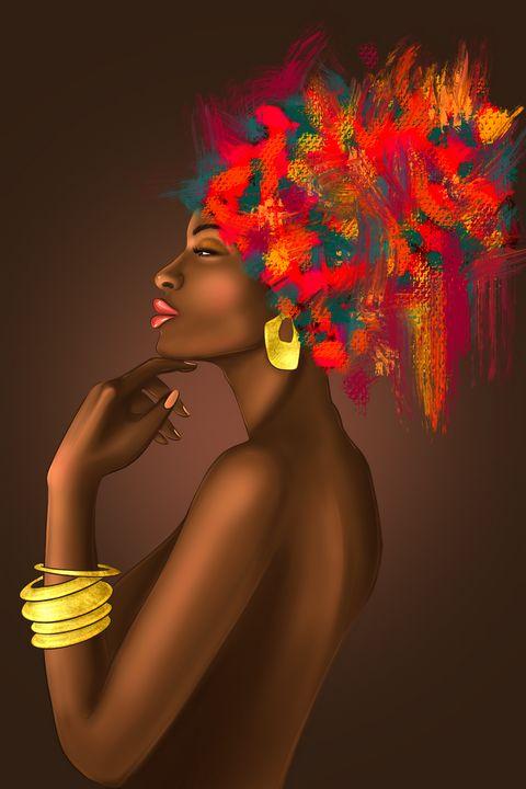 African American Women - Art.kuzeneva