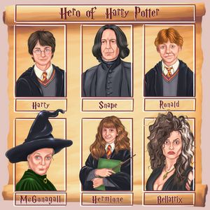 Hero of Harry Potter - Art.kuzeneva