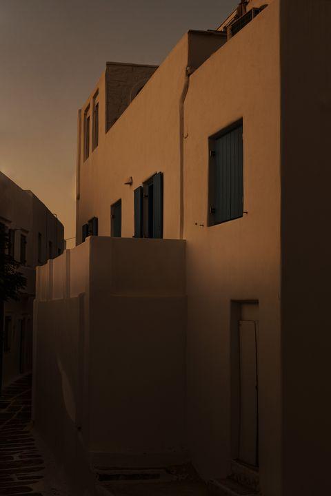 Blue sunset - Sotiriadis Giannis